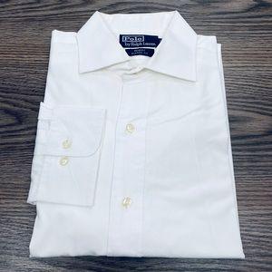 Polo Ralph Lauren White Dress Shirt 16 34/35
